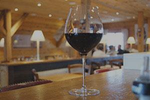 La dalle en Pente - Verre vin